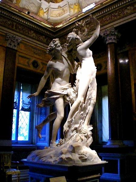 Apolo y Dafne de G. C. Bernini, 1622-1625 (Imagen de Int3gr4te)