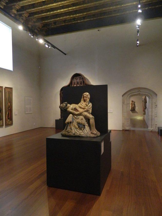 Piedad S.XV, Taller Germánico (Museo Nacional de Escultura- Valladolid)
