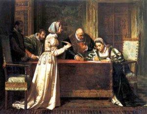 Paz de las Damas, Francisco Jover, XIX